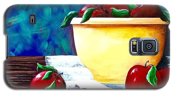 Yellow Bowl Of Apples Galaxy S5 Case