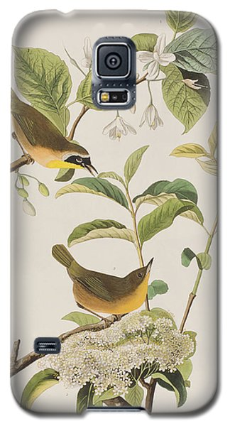 Yellow-breasted Warbler Galaxy S5 Case by John James Audubon