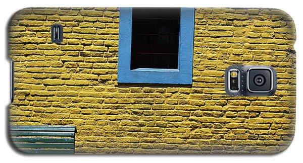Yellow Brick Window Galaxy S5 Case