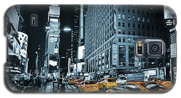 Yellow Broadway At Night - Nyc Galaxy S5 Case