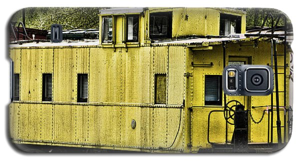 Yellow Caboose Galaxy S5 Case