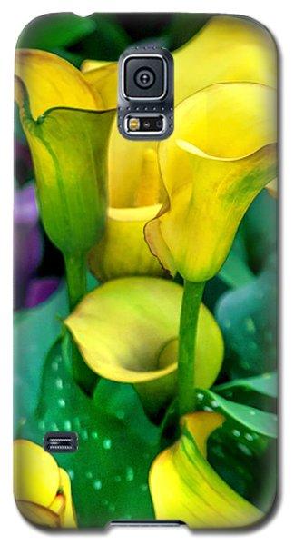Yellow Calla Lilies Galaxy S5 Case