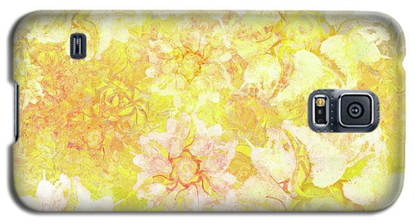 Yellow Camellia Hedges Galaxy S5 Case