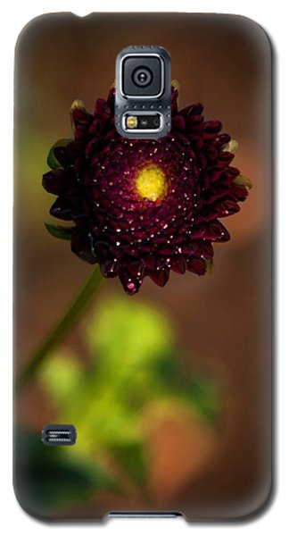Galaxy S5 Case featuring the photograph Yellow Center by Cherie Duran