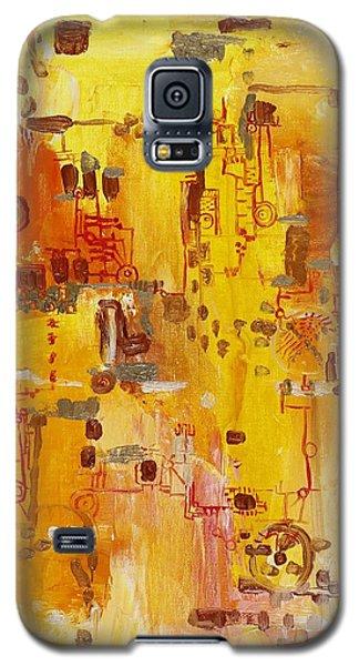 Yellow Conundrum Galaxy S5 Case
