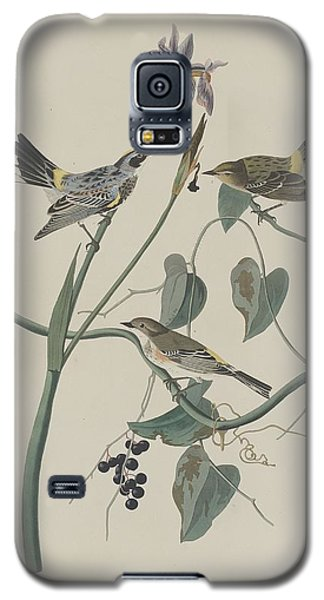 Yellow-crown Warbler Galaxy S5 Case