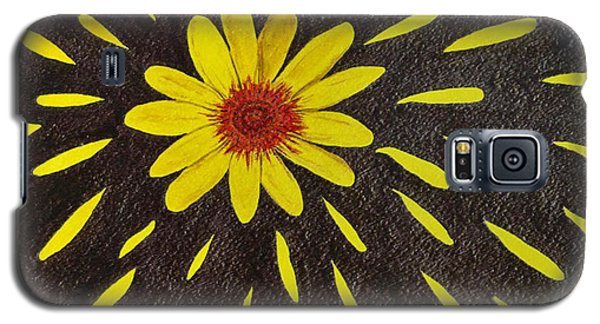 Yellow Daisy Galaxy S5 Case