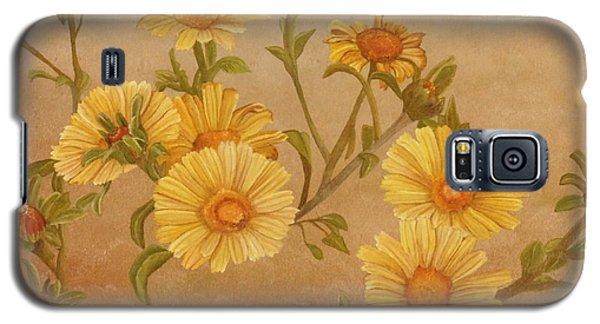 Yellow Daisies Galaxy S5 Case