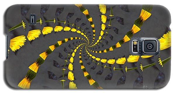 Yellow Daisy Spin Wheel  Galaxy S5 Case