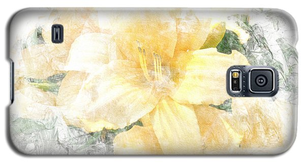 Yellow Daylily Galaxy S5 Case