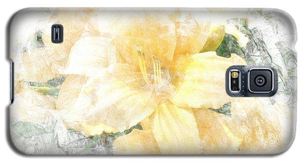 Yellow Daylily Galaxy S5 Case