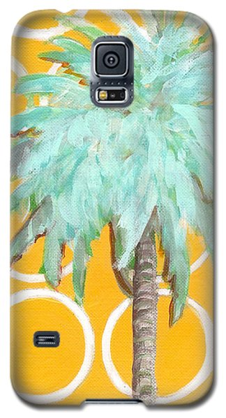 Yellow Delilah Palm Galaxy S5 Case
