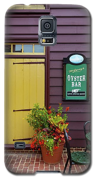 Yellow Door In Annapolis Galaxy S5 Case