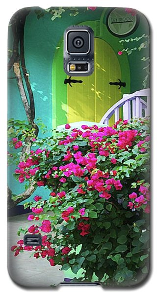 Yellow Door Galaxy S5 Case by Michael Thomas