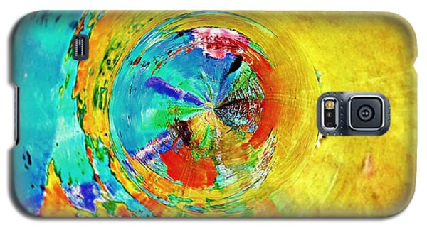Yellow Eclipse  Galaxy S5 Case