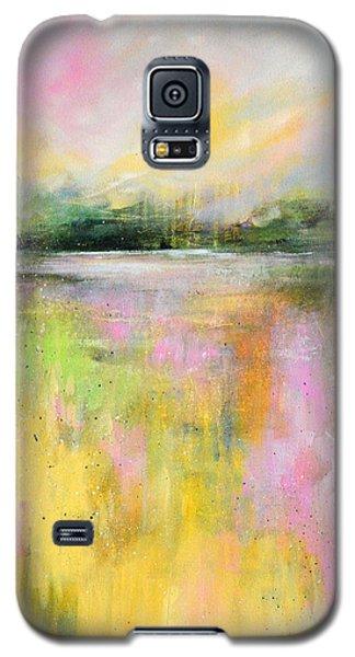 Yellow Field Galaxy S5 Case