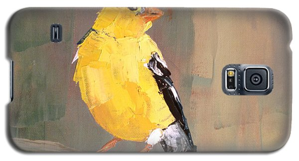 Yellow Finch Galaxy S5 Case