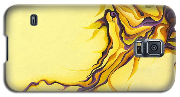 Yellow Flow Galaxy S5 Case