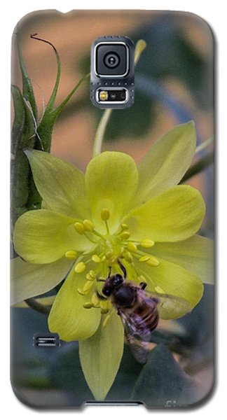 Yellow Flower 5 Galaxy S5 Case