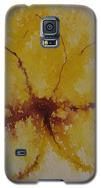Yellow Flower Galaxy S5 Case by AJ Brown