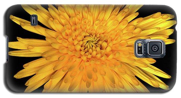 Yellow Flower Macro Galaxy S5 Case
