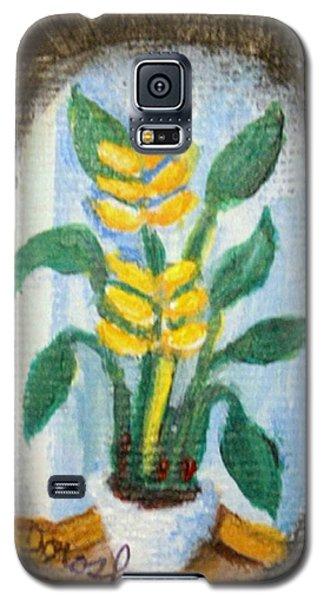 Yellow Flowers Galaxy S5 Case