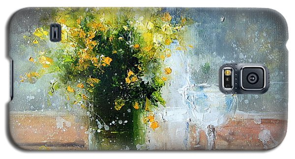 Yellow Flowers Galaxy S5 Case