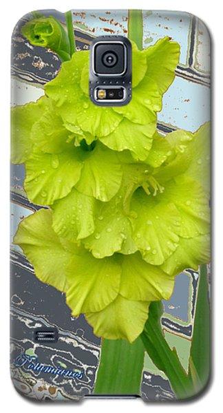 Yellow Gladiolas Galaxy S5 Case