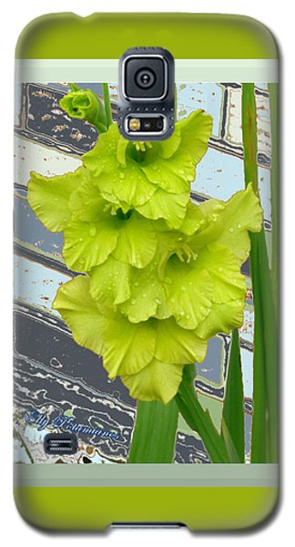 Yellow Gladiolas Galaxy S5 Case