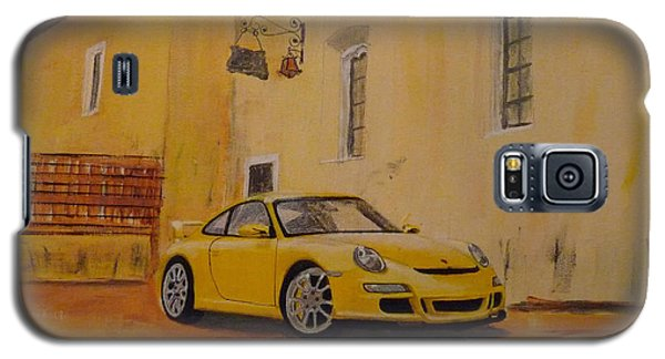 Yellow Gt3 Porsche Galaxy S5 Case