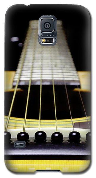 Yellow Guitar 17 Galaxy S5 Case