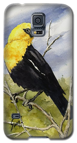 Yellow-headed Blackbird Galaxy S5 Case