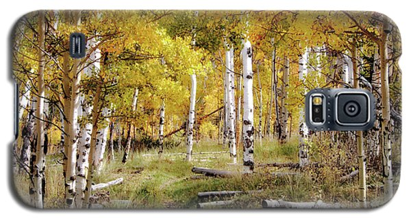 Yellow Heaven Galaxy S5 Case by Jim Hill