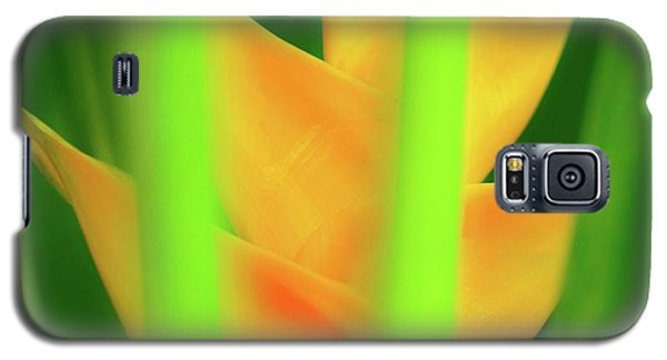 Yellow Heliconia - Tropical Hawaii - 957 Galaxy S5 Case