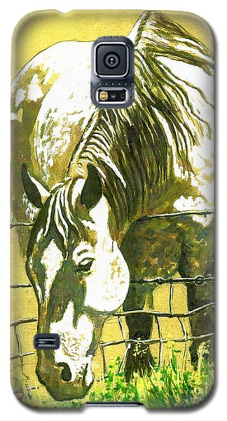 Yellow Horse Galaxy S5 Case