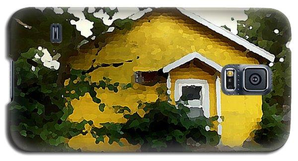 Yellow House In Shantytown  Galaxy S5 Case