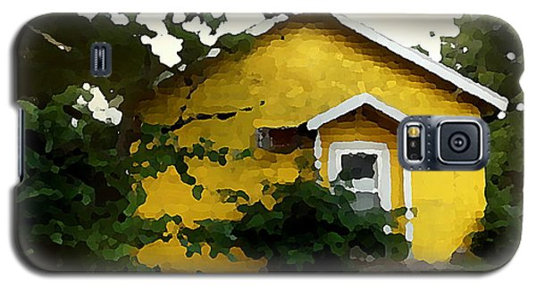 Yellow House In Shantytown  Galaxy S5 Case