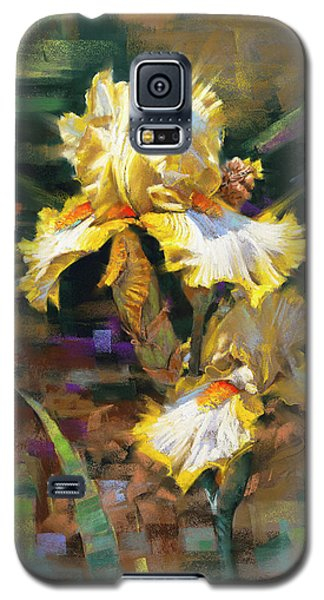 Yellow Iris II Galaxy S5 Case