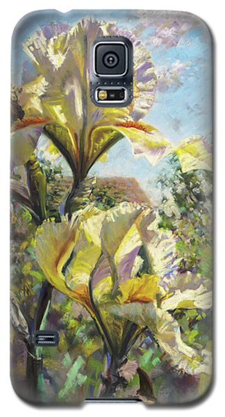 Yellow Iris Galaxy S5 Case