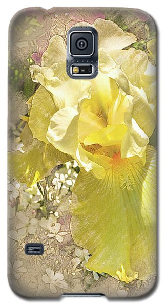 Yellow Iris Galaxy S5 Case