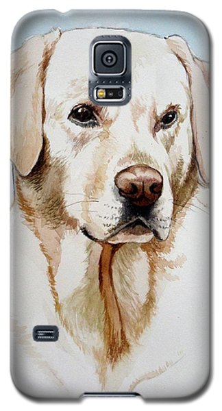 Yellow Lab Galaxy S5 Case