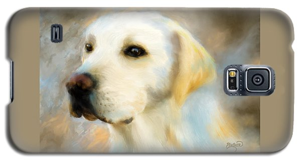 Yellow Lab Portrait Galaxy S5 Case