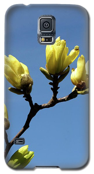 Yellow Magnolia Galaxy S5 Case