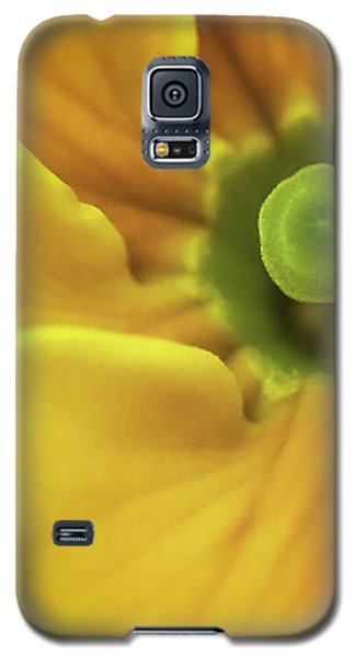 Yellow Galaxy S5 Case