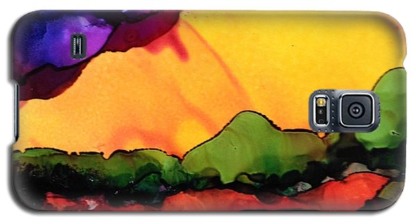 Yellow Mountain Galaxy S5 Case by Suzanne Canner