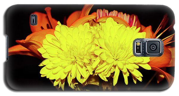Yellow Mums And Orange Lilies  Galaxy S5 Case