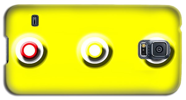 Yellow Nine Squared Galaxy S5 Case