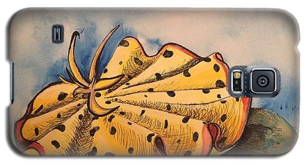 Yellow Nudibranch Galaxy S5 Case