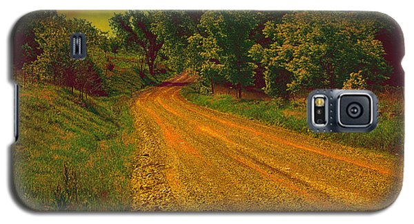 Yellow Oz Road Galaxy S5 Case