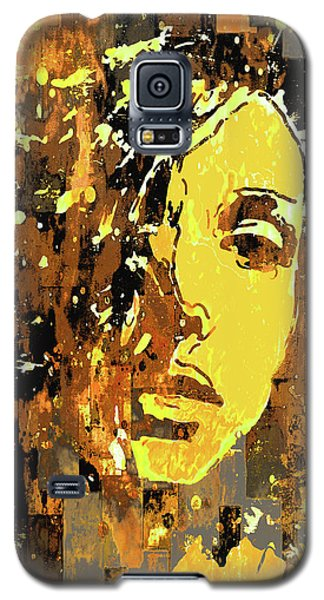 Galaxy S5 Case featuring the photograph Yellow Portrait by Jeff Gettis